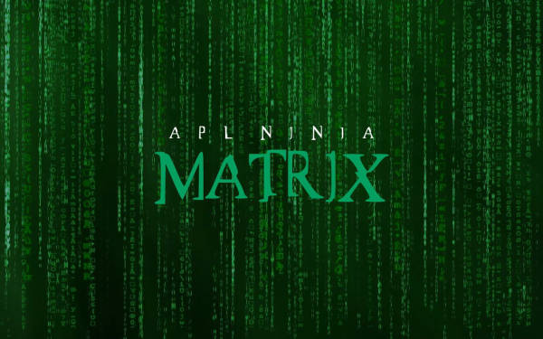 Matrix Splash Screen