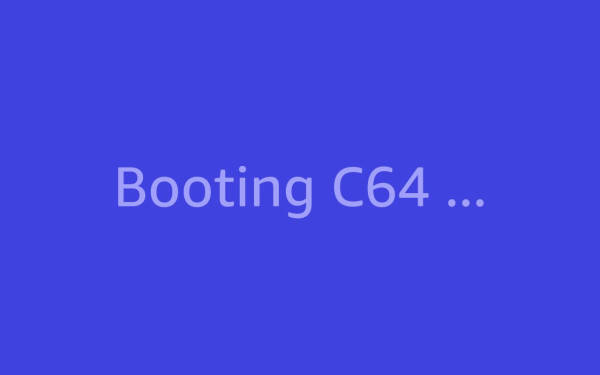 Browser based C64 Emulator booting Frogger