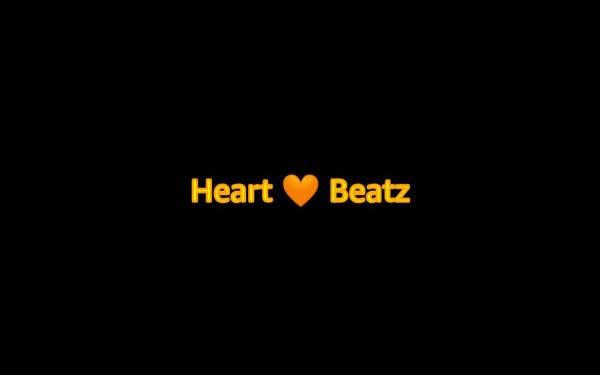 "Animated ""Heart 🧡 Beatz"" demo"
