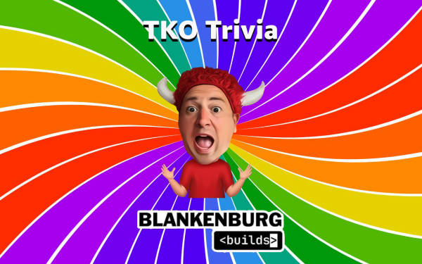 Jeff Blankenburg's TKO Trivia Example