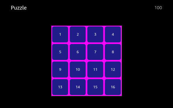 Tile Puzzle Game