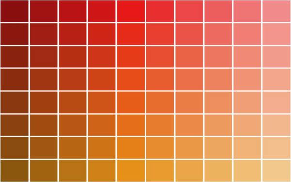 Parameterized Color Pallet