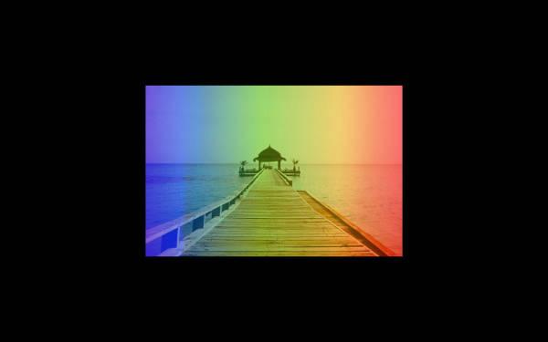 Image gradient filter