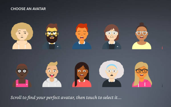 Avatar Select