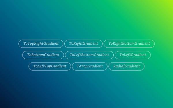 Gradient Types