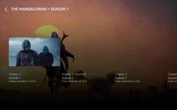 Episode List Template