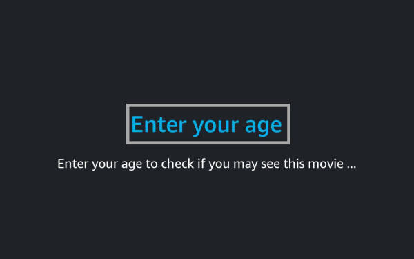 """Example: """"EditText"""" component for """"Age Check"""""""
