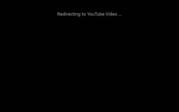 YouTube: Forward page to embedded Video