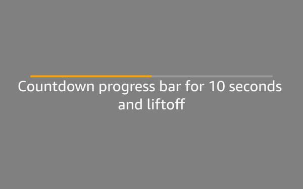 How to animate Alexa Progress Bars backwards